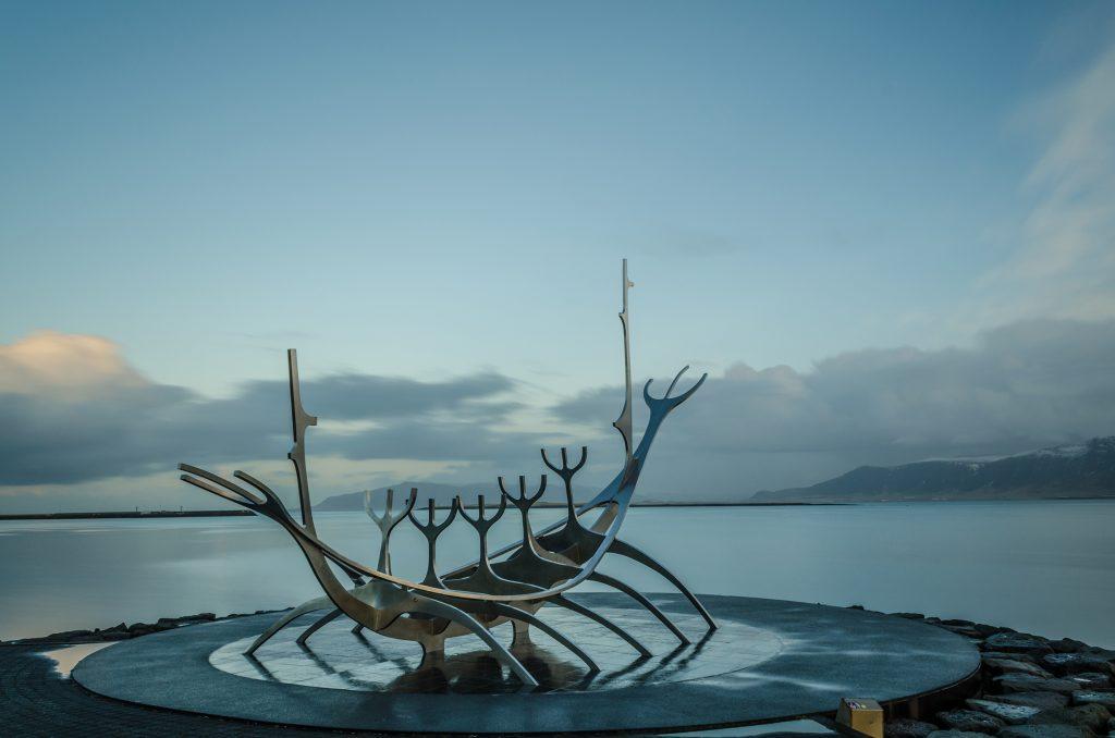 Islande bateau viking Reykjavik