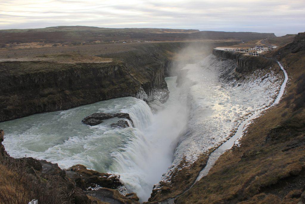Islande cascade de Gulfoss