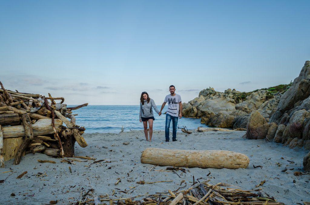 Herdroud & Laetitia au Cap Taillat