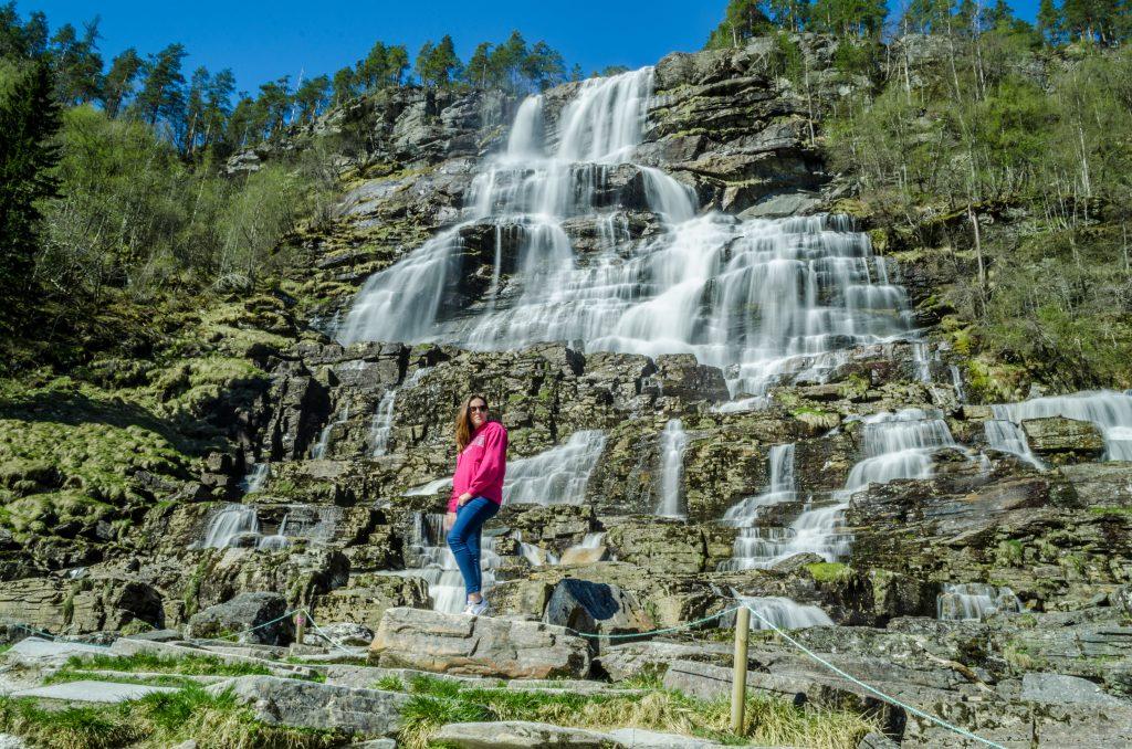 Tvindefossen une jolie cascade de Norvège