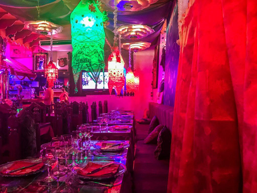 Indian Lounge restaurant Indien, décoration