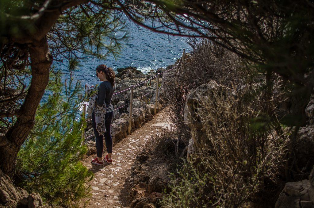 Sentier du littorale du Cap d'Antibes