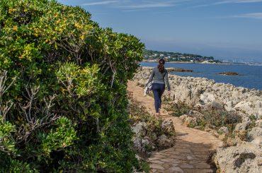 Antibes, balade sur la côte de la Côte d'Azur