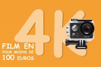 EAGLE 4K une caméra d'action à moins de 100 euros