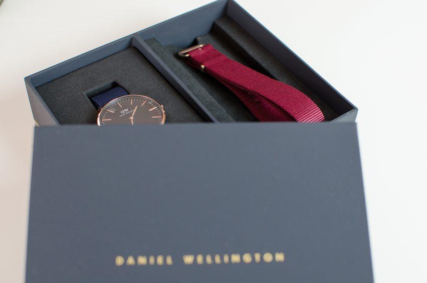 Code promo montre DANIEL WELLINGTON