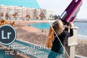 Preset Lightroom Teal & Orange gratuit à télécharger