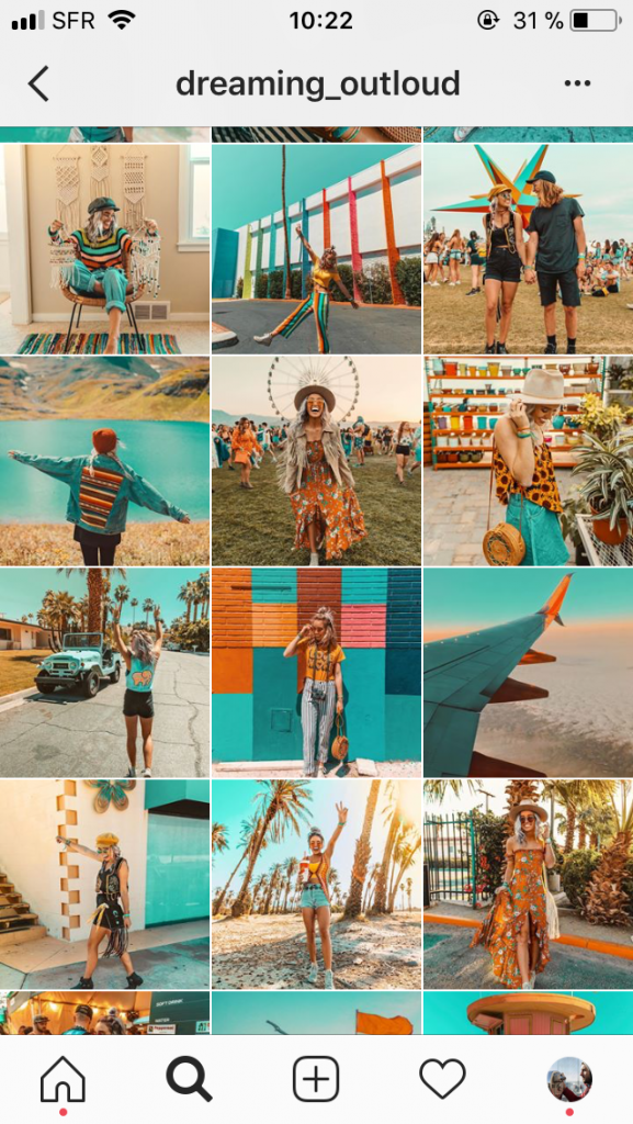 preset lightroom gratuit Teal Orange comme dreaming_outloud