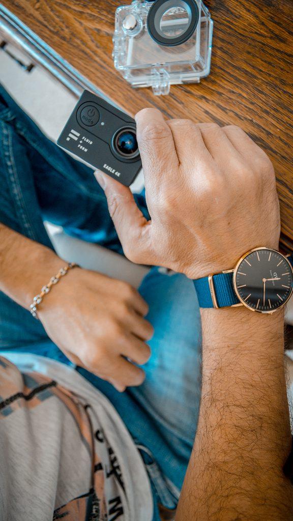 Iphone vs reflex montre daniel wellington