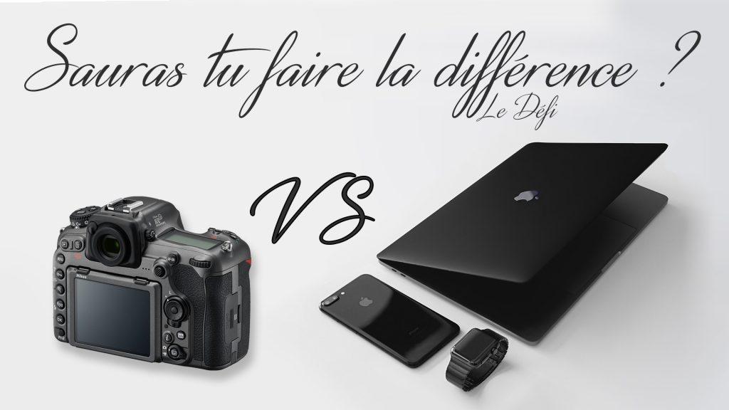 Iphone vs Reflex le grand défi