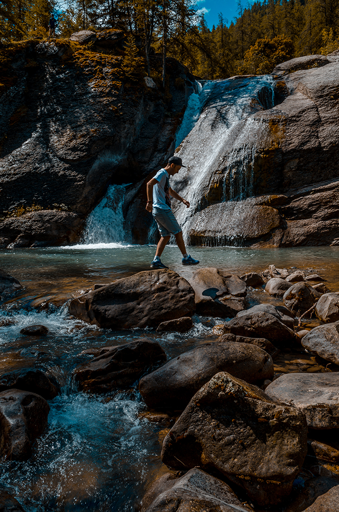 Cascade alpes de haute provence