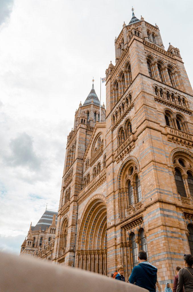 musée d'histoire naturel Londres