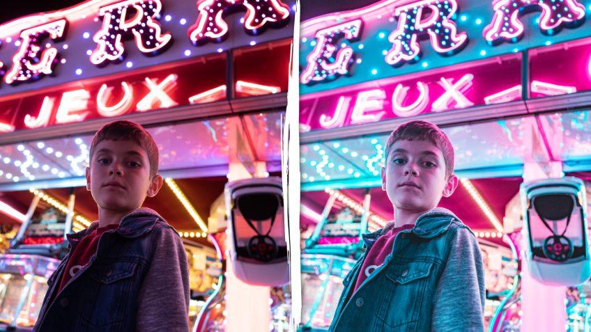 Preset Lightroom Pink & blue gratuit à télécharger