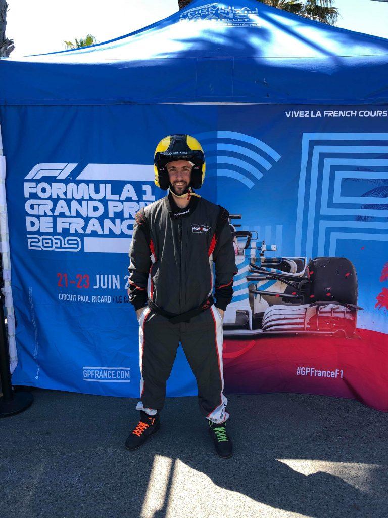 Combinaison formul 1 du Grand Prix de France 2019