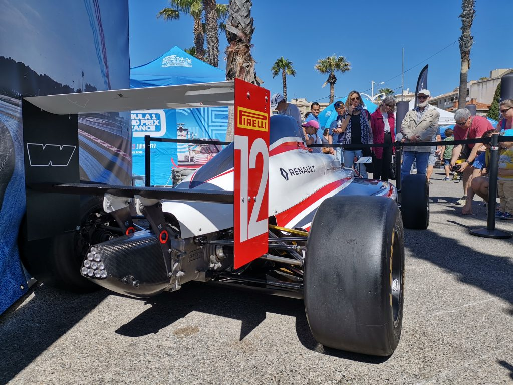 Ancienne formule 1 Renault Sport
