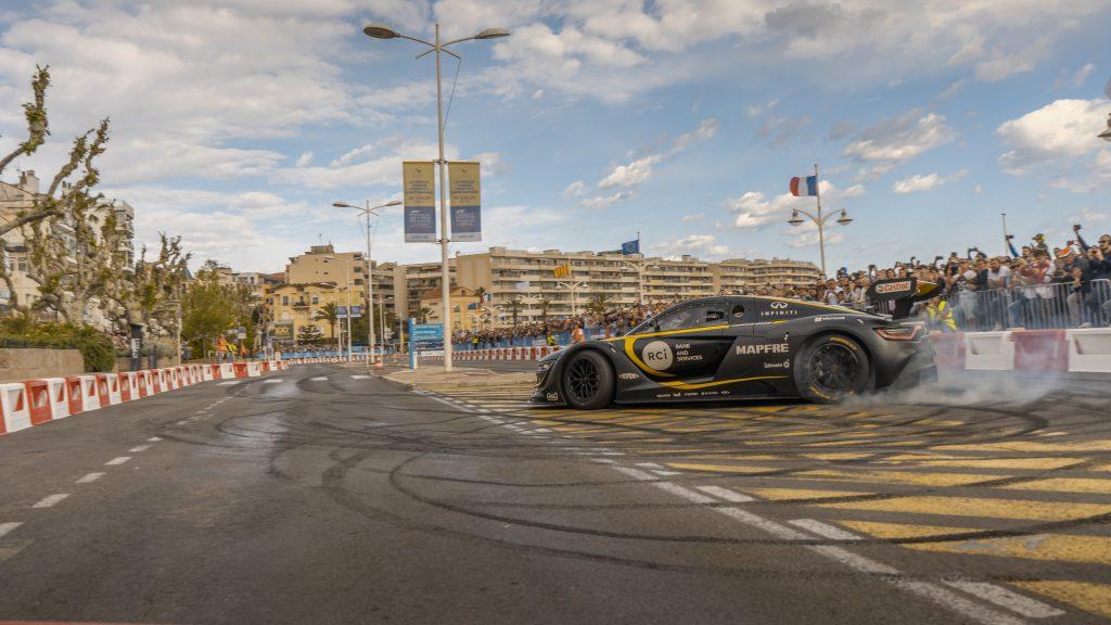 Renault RS01 drift pour le Grand prix de France 2019