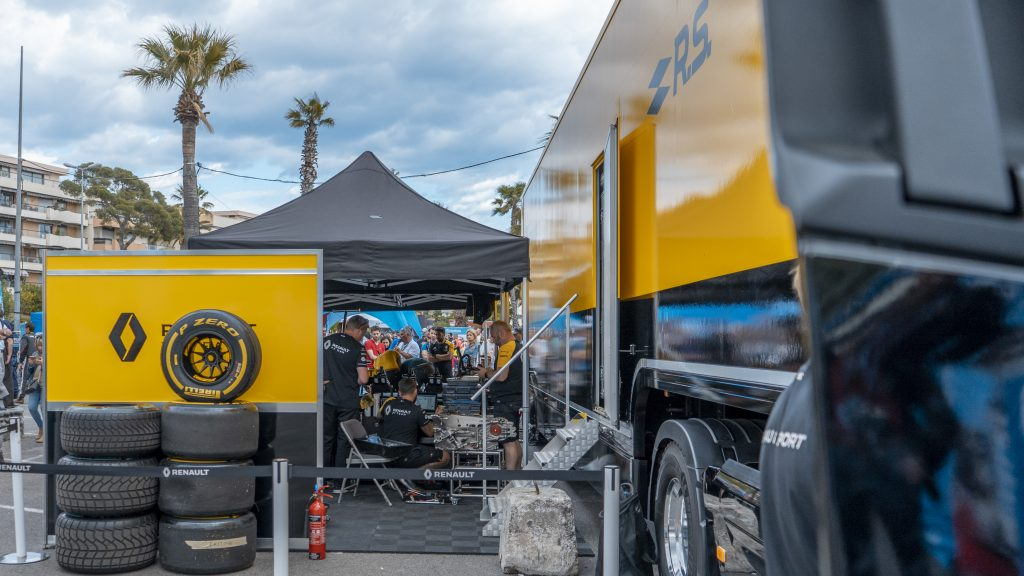 Stand Renault Sport F1