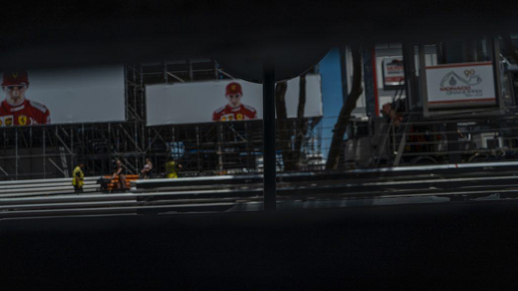 Ligne de départ du grand prix de Formule 1