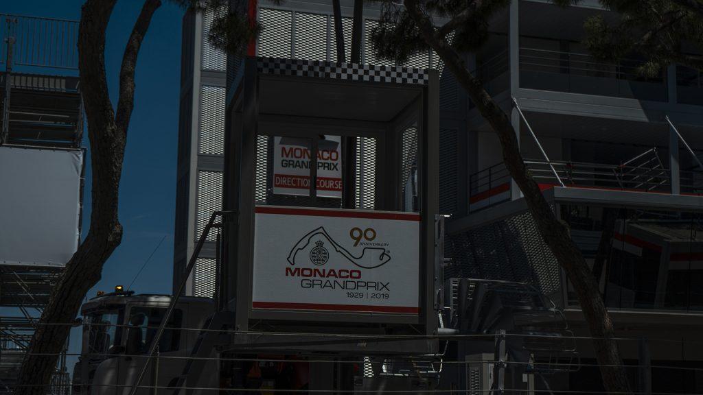 tracé du circuit de Monaco