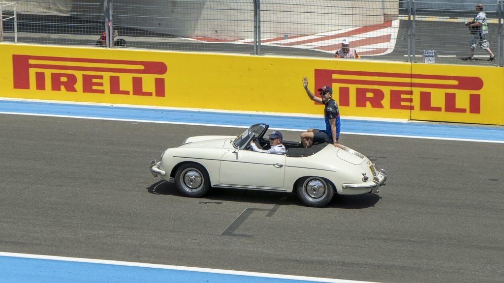 Parade des pilotes de formule 1