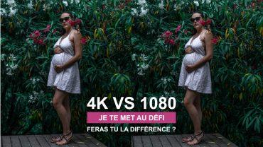 Peut on faire la différence entre une vidéo filmée en 4k et en 1080p ?
