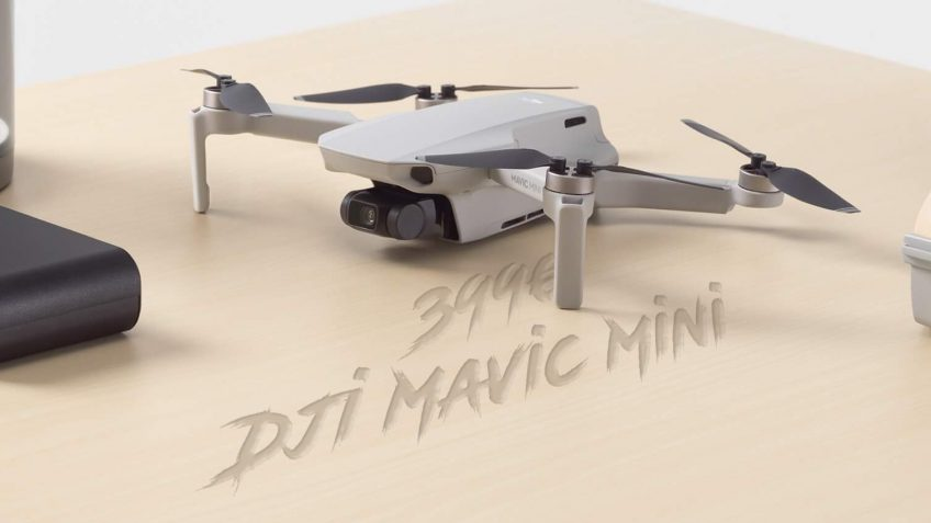 DJI MAVIC MINI, un drone tout public à moins de 250gr