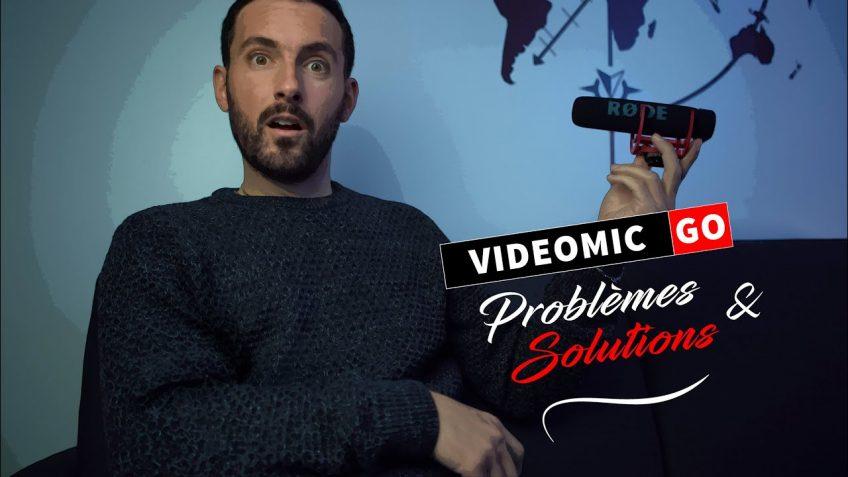 Videomic GO problèmes et solutions de ce micro signé RODE