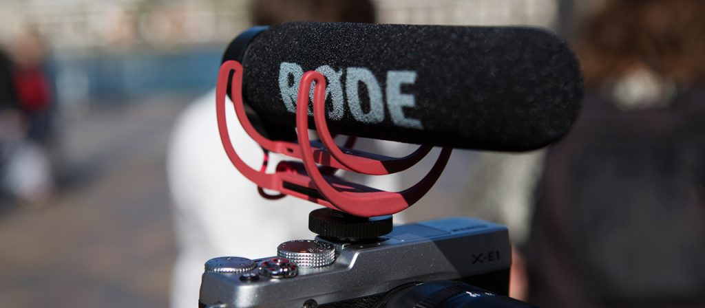 Photo du micro directionnelle Rode videomic GO