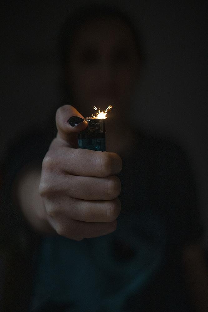 Départ de flamme