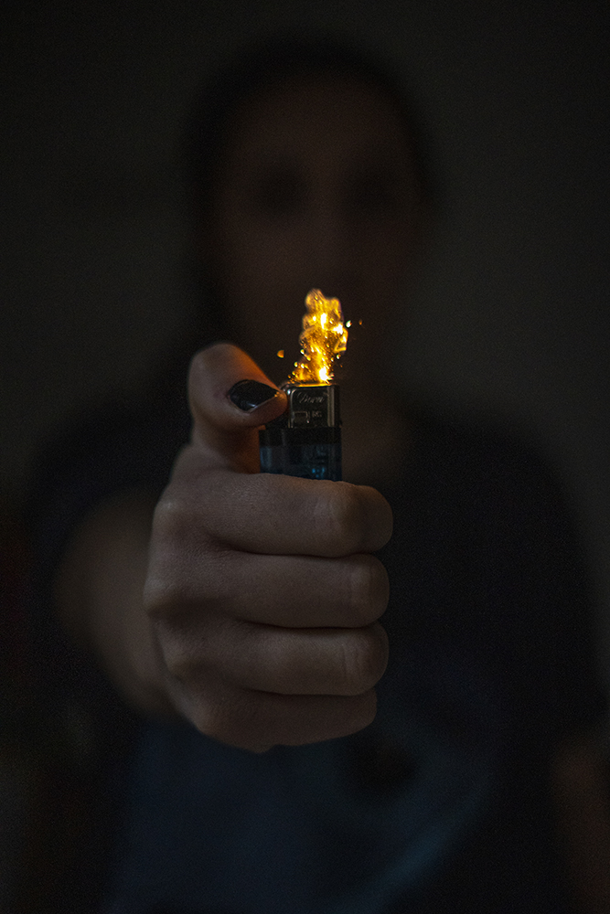 Prendre en photo du feu