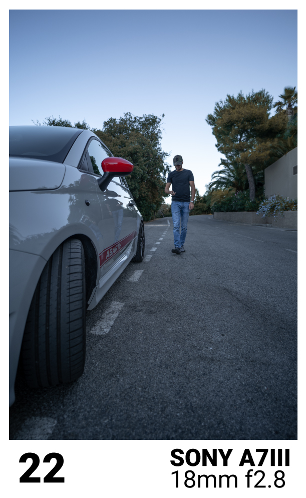 comment faire des photo de sa voiture