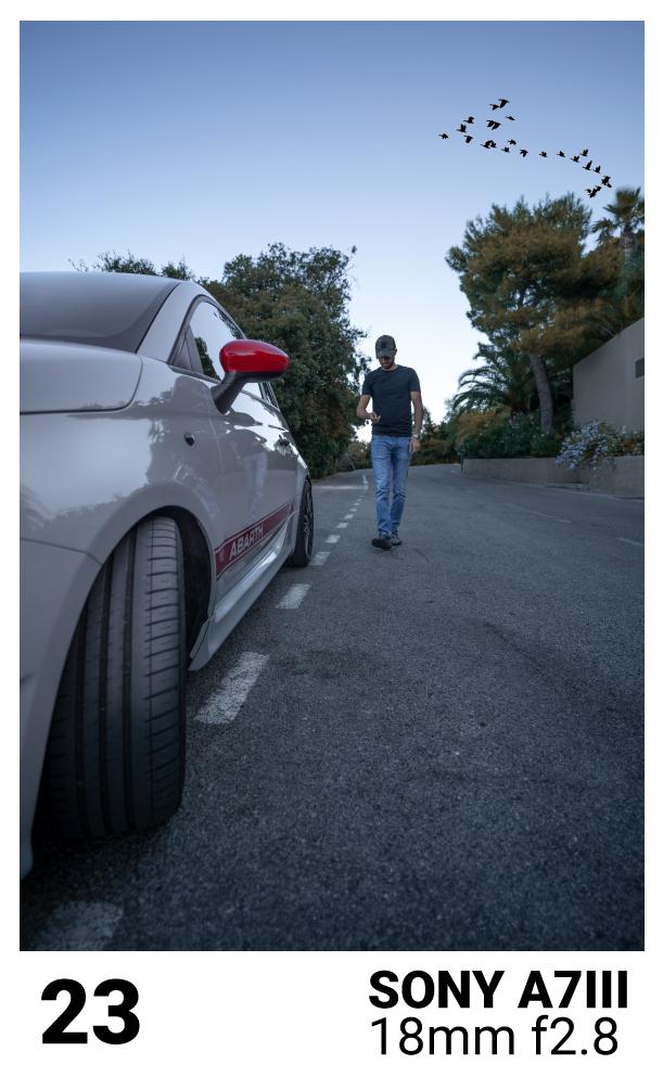 photo de portrait automobile
