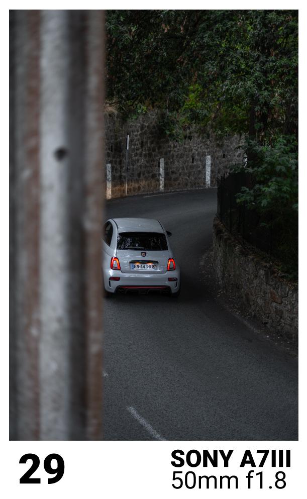 photo créative voiture
