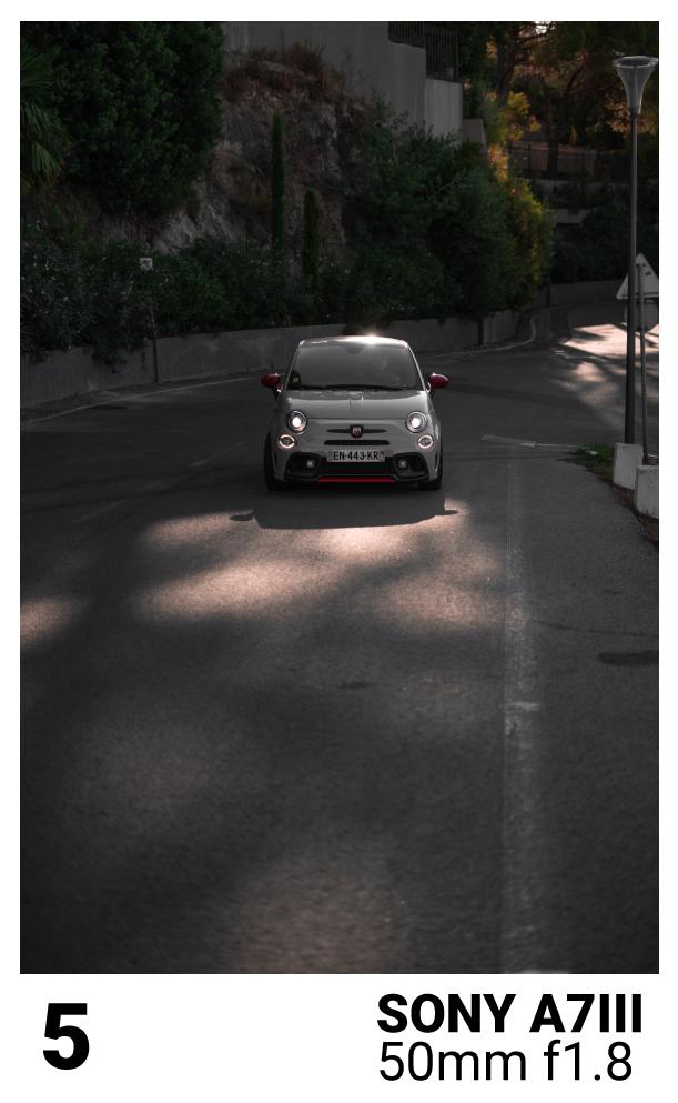 la lumièere en photographie automobile