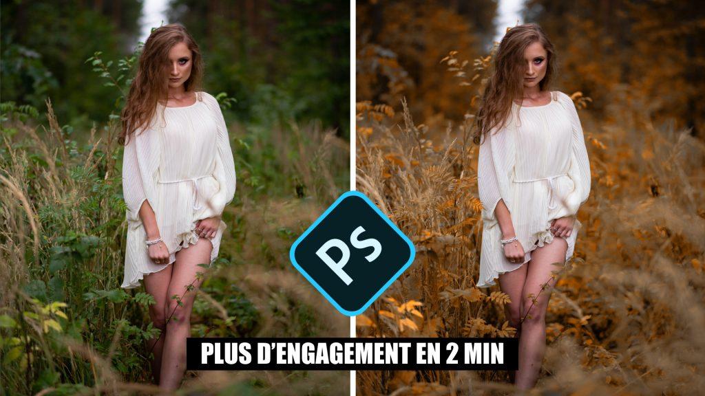 Modifier les couleur d'une photo sur photoshop