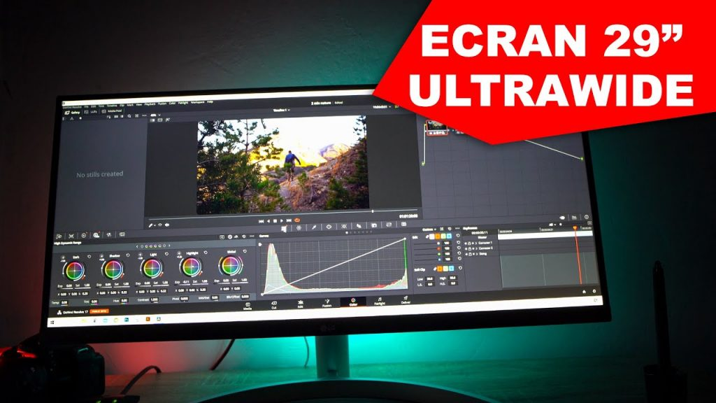 Ecran ultrawide 21/9 LG
